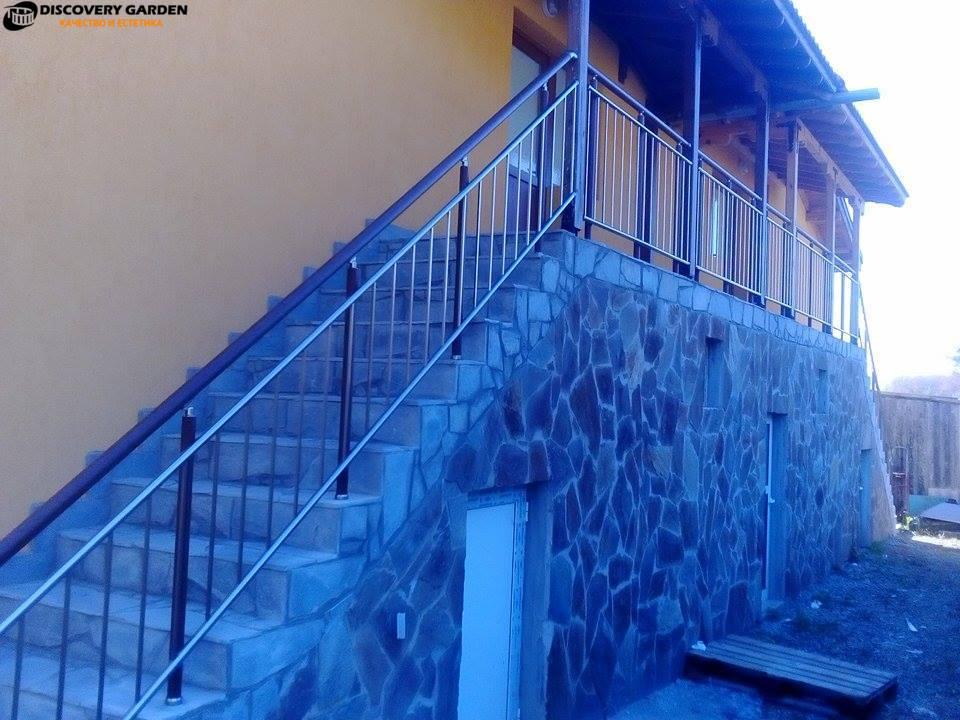 Алуминиеви парапети Пловдив проектиране изработка и монтаж от Дискавъри Гардън